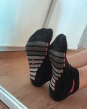 Getragene Sportsocken Socken Söckchen Strümpfe