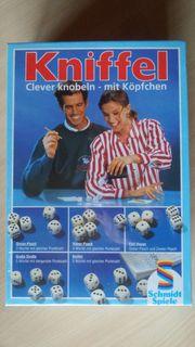 Retro KNIFFEL von Schmidt Spiele -