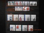 Briefmarken Berlin Sehenswürdigkeiten Paare und