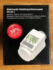 3x Elektronik-Heizkörperthermostat