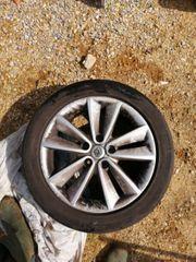 4 Alufelgen mit Sommerbereifung Renault