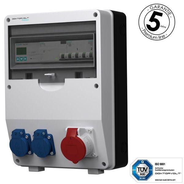 Stromverteiler pTD-S FI 16A 2x230V
