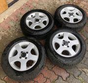 4 orig Alufelgen Mazda inkl