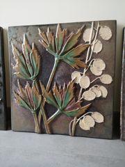Wand-Keramik Majolika