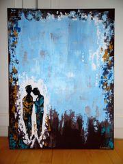 Bild Acrylbild abstrakte Kunst Gemälde