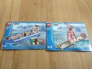Lego City Hafenkranstraße und Schiff
