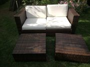 Rattan Couch Sofa Gartenmöbel