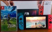 Nintendo Switch inkl Zelda - Breath