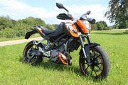 KTM Duke 125 ABS Motor