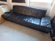 Couch Ledercouch Wohnen Wohnlandschaft