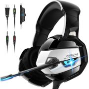 K10 Black Gaming Headset PS4