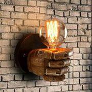 Wandleuchte Vintage Retro Wandlampe Hand