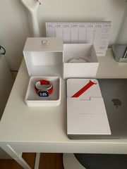 Apple Watch Edelstahl mit Saphirglas