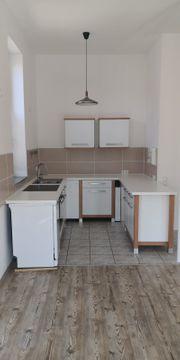 Küche weiß U-Form