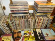 Schallplatten Vinyl sammlung über 400