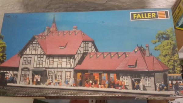 Faller Bausatz Bahnhof