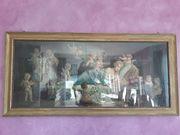 Gemälde Bild schlafende Frau mit