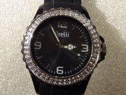 Firetti Quartz-Damen-Armbanduhr Mit Funkelnden Glassteinen