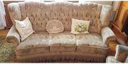 Kleines Sofa mit Sessel