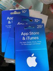 App Store iTunes Karten