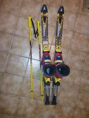 Ski für Kinder mit Schuhen