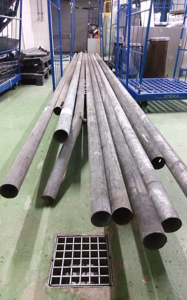 verzinkt Stahlrohr Eisenrohr 60 3x4mm