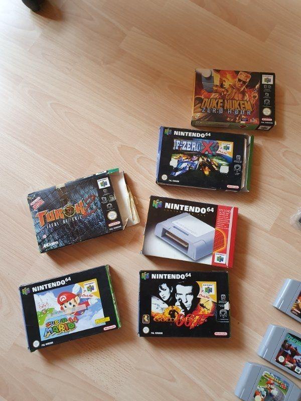Nintendo 64 N64 Spiele Duke