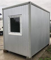 Bürocontainer Gartenhaus Baustellencontainer - sofort lieferbar