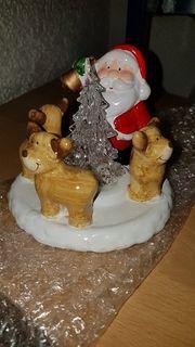 Weihnachts Dekoration mit licht