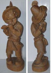 schön Flötenjunge aus Holz Junge