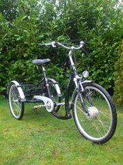 Elektro-Dreirad für Shoppingtouren - BBF - Dreirad Senioren