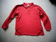 Poloshirt Shirt Langarm Herren Gr