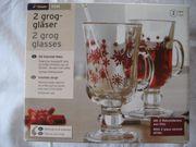 Grog Gläser 2 Stk mit