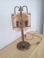 Tischlampe Messing