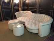 Bretz XXL Leder Sofa Lounge