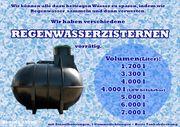 Zisterne Regenwassertank 3300 Liter inkl