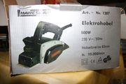 MANNESMANN Elektronischer Hobel Elektrohobel 1287
