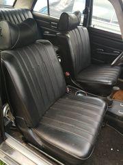 Mercedes Benz W115 MB-TEX schwarz