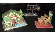 4 uralte Spielzeug- Antriebsmodelle Transmission