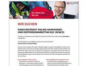 Referent Online-Kampagnen- und Vertriebsmarketing B2C