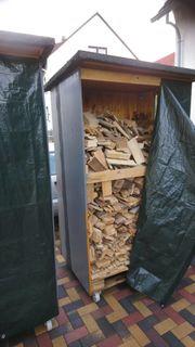 Aufbewarungsbox Brennholz Box Rollbox