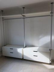 Ikea Ankleidezimmer Elemente Begehbarer Kleiderschrank