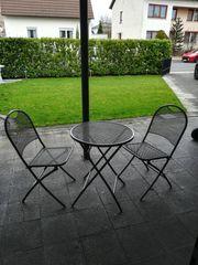 Tisch set aus Metall