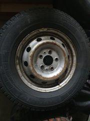 Fiat Ducato Allwetterreifen auf Stahlfelge
