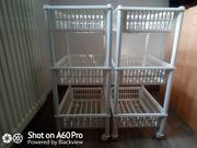 2 Küchenwagen Trolleys 5EUR für