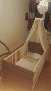 Kinderbett Babybett plus Bettwäsche Unbenutzt