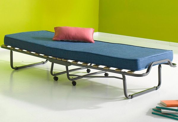 Neu 80x200 Klappbett Gästebett Klappbar Gästeliege Raumspar Bett In