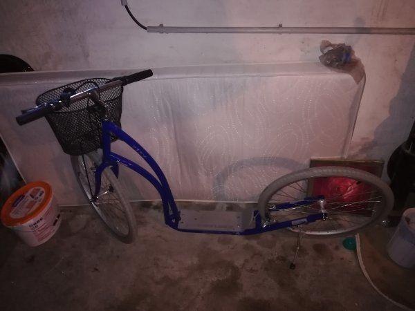 tretroller Fahrrad