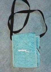 techno line Umhängetasche Jeansart - blau