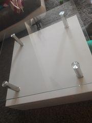 Couchtisch Beistelltisch Glas Hochglanz